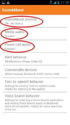 cara setting aplikasi android soundabout