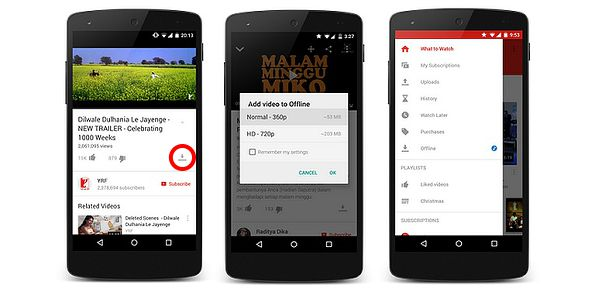 youtubean tanpa kuota dengan mode offline youtube save video
