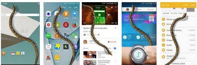 aplikasi untuk memunculkan ular di smartphone android dan iphone