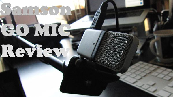 review condenser Samson go mic microphone mobile cocok untuk youtubers