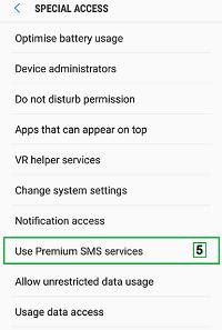 use sms premium service
