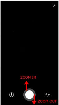 cara melakukan zoom saat merekam instagram stories