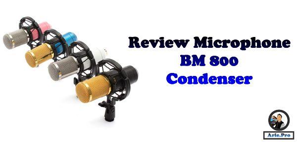 Review dan harga Microphone Condenser BM 800 Recording Vlog Youtube Broadcasting Smule