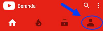 cara membuat akun youtube di android