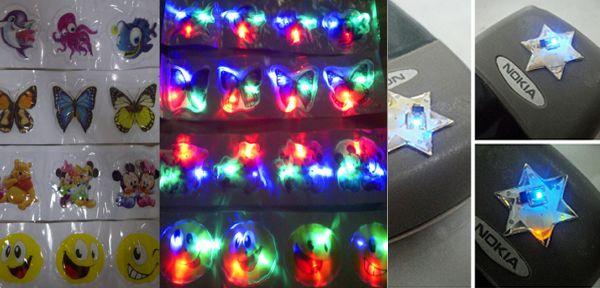 sticker lampu notfikasi led sinyal