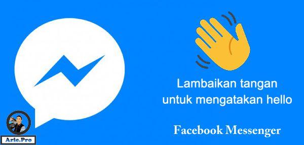 apa itu & cara melambaikan tangan di facebook messenger