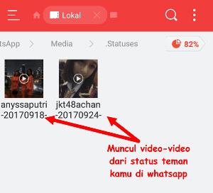 cara melihat video status di whatsapp tanpa ketahuan