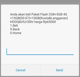 cara mendapatkan paket kuota 30Gb telkomsel