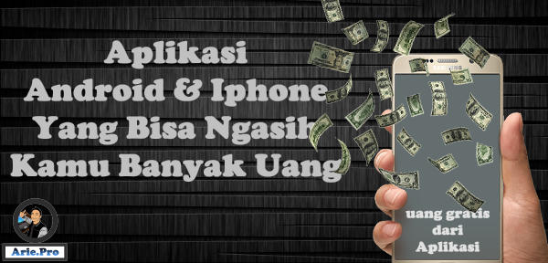 aplikasi android ini kasih uang rupiah bisa bikin kaya asli 100%