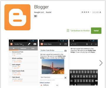 cara menghasilkan uang dari aplikasi android blogger