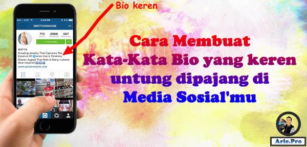 Kata Bio Diri Sendiri Keren Untuk Fb Instagram Twitter Dll Www