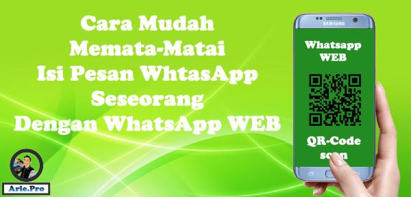 100% pasti berhasil cara memata-matai WA Whatsapp tanpa aplikasi tambahan