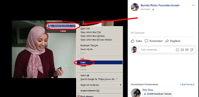 cara download video di facebook lewat komputer dan laptop