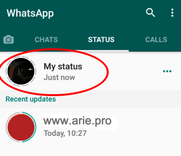 cara membuat status video panjang whatsapp di iphone