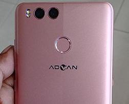 dual camera dan finger print sensor advan i5c lite