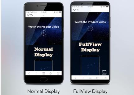 perbedaan fullview display dan layar smartphone biasa