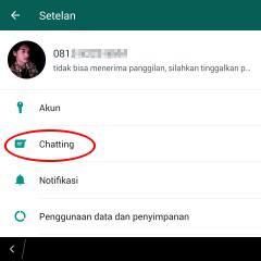 cara merubah background whatsapp dengan foto sendiri