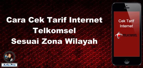cek tarif internet telkomsel sesuai pembagian zona wilayah