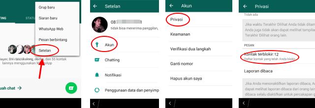 mengatasi kontak tidak tampil di aplikasi whatsapp