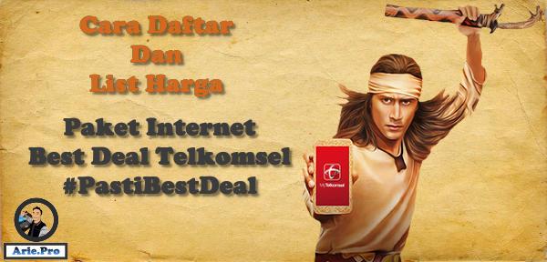 paket pasti best deal telkomsel cara daftar dan harganya