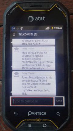 sms 5111 paket jempol 5gb rp10 telkomsel
