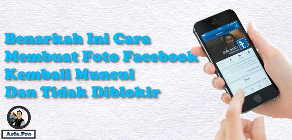 komentar #aktif di facebook bisa membuat foto profil kembali muncul