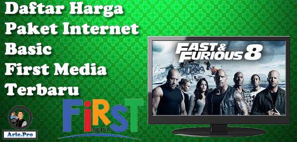 promo terbaru harga paket basic internet First Media