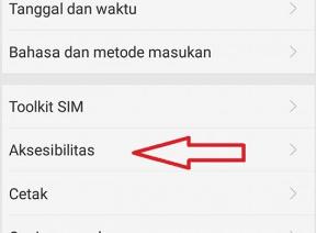 pengaturan aksesibilitas di smartphone android