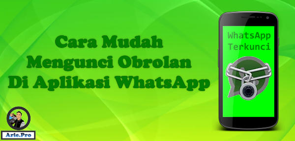 cara mengunci percakapan chating whatsapp dengan obrolan locker