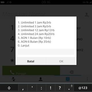 paket internet unlimited termurah