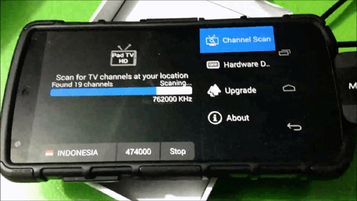Cara setting tv tuner di android