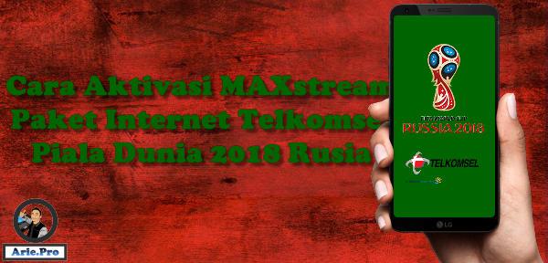 cara daftar paket internet piala dunia Telkomsel 30GB Rp10