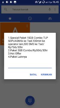 cara daftar paket internet telkomsel 75ribu 15gb