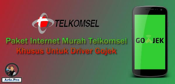 Cara beli paket internet Telkomsel 15GB Rp75ribu khusus Gojek