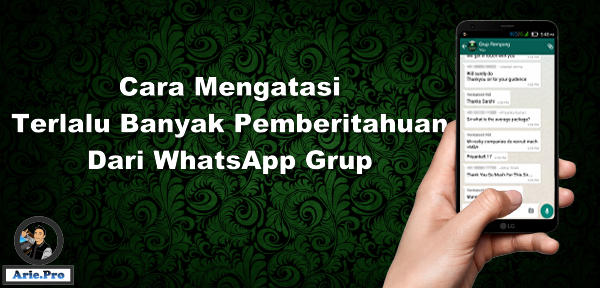 Cara membatasi obrolan dan notifikasi grup whatsapp