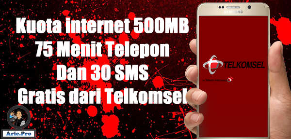 Cara Mendapatkan Kuota Internet Gratis 500mb Dari Telkomsel Www Arie Pro