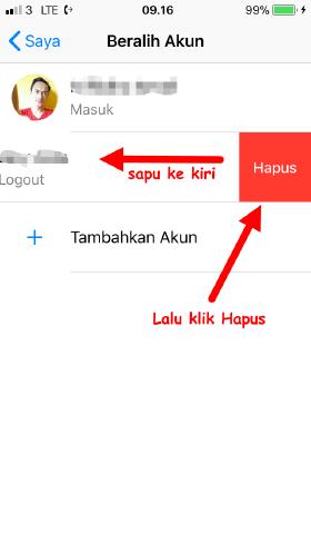 cara keluar aplikasi messenger tanpa hapus aplikasi