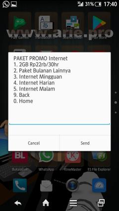 cara beli paket internet malam telkomsel