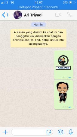 Cara Membuat Stiker Whatsapp Menggunakan Foto Sendiri Www Arie Pro