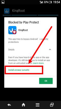 mengatasi aplikasi tidak dapat diinstall google play protect