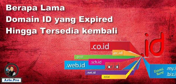 berapa lama waktu domain .id expired hingga tersedia kembali