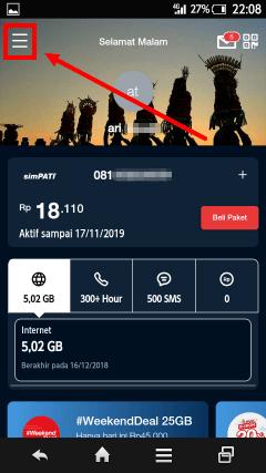 cara daftar paket 25gb telkomsel murah