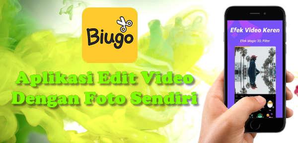 Biugo aplikasi video efek foto sendiri untuk status WhatsApp