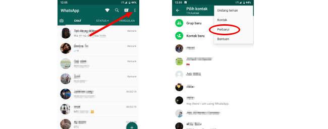 cara sembunyinkan foto profil whatsapp