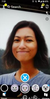 merubah wajah pria jadi wanita atau sebaliknya di snapchat