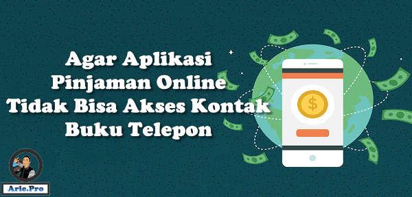 agar kontak buku telepon tidak bisa ditelepon pinjaman online