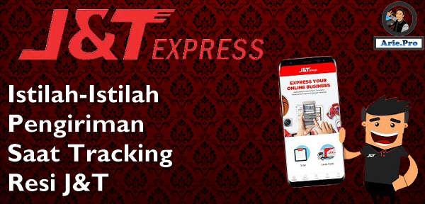 kedug JKS SRG dan istilah pengiriman J&T express lainnya