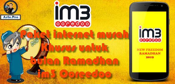 paket internet im3 indosat ooredoo ramadhan 2019