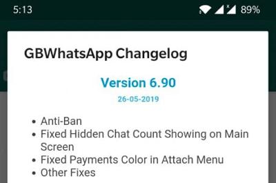Cara agar tidak terkena banned saat menggunakan GBWHatsApp dan WhatsApp plus