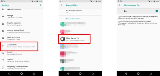 setting aksesbilitas pada android